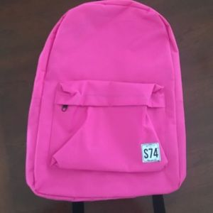Other - 16 inch pink backpack
